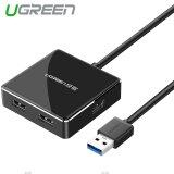 ขาย Ugreen Usb 3 4 Ports Hub Splitter With Micro Usb Charging Interface Compatible With Mac Windows System Black ผู้ค้าส่ง