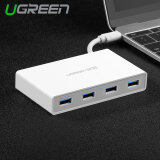 ขาย ซื้อ ออนไลน์ Ugreen Usb Type C 3 4 Ports Hub With Led Indicator Splitter Extenstion Adapater For Macbook