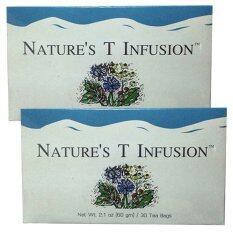 ส่วนลด สินค้า Unicity Nature S T Infusion ยาชงสมุนไพร เนเจอร์ส ที 2 กล่อง แถมฟรี Polvera Aloevera Fresh Gel 1 หลอด