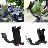 ขาย Universal Motorcycle Phone Holder Stand Motorbike Cellphone Mount Bracket With Edge Protector For Iphone Sumsung Gps Rose Red เป็นต้นฉบับ