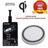 ส่วนลด Universal Qi Wireless Charging Kits Receiver Card And Charger Pad For 5 Pin Micro Usb Android Mobile Phone Charger White Black Qi
