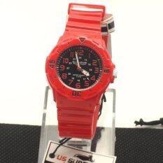 ขาย Us Submarine นาฬิกาข้อมือสุภาพสตรี สายเรซิ่น รุ่น Tp 2108L ราคาถูกที่สุด