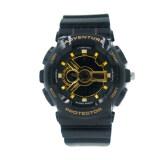 ราคา Us Submarine นาฬิกาสปอร์ต สำหรับผู้หญิงหรือเด็ก สายยาง รุ่น Us Submarine Tp3163M ดำ ทอง Us Submarine เป็นต้นฉบับ