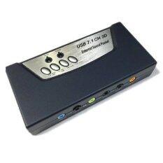 ขาย Usb 2 Sound Card 7 1แท้ With Spdif In Out เป็นต้นฉบับ