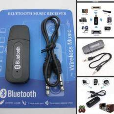 ความคิดเห็น Usb Wireless Bluetooth Music Stereo Receiver Adapter Amp Dongle Audio Home Speaker 3 5Mm Intl