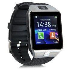 Uwatch นาฬิกาโทรศัพท์Smart Watchรุ่นA9 Phone Watch (สีเงิน) +สายUSB