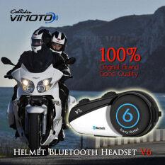 ขาย V6 Vimoto Motorcycle Helmet Bluetooth Intercom บูลทูธสำหรับหมวกกันน๊อต ออนไลน์ ใน ไทย