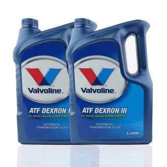 VALVOLINE น้ำมันเกียร์ออโต้ ATF DEXRON III/ MERCON 5 ลิตร (2 แกลลอน)