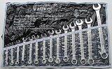 ขาย ซื้อ Work Vauko Combination Wrench ชุดประแจแหวนข้างปากตายข้าง 14 ตัวชุด 8 24 มม จากประเทศญี่ปุ่น Iso9001 รุ่น Vk 14