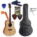 ราคา Veelah กีตาร์โปร่ง ไฟฟ้า Acoustic Guitar รุ่น V1Dce Set Veelah เป็นต้นฉบับ