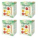 Verena Fiberlax ไฟเบอร์แล็กซ์ ผลิตภัณฑ์เสริมอาหารล้างสารพิษในลำไส้ กระตุ้นระบบขับถ่าย 10 ซอง X4 กล่อง เป็นต้นฉบับ