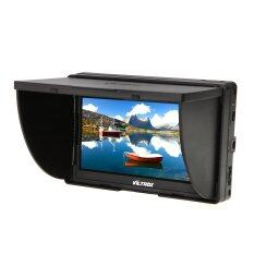 Viltrox Clip-on Portable 5' LCD Monitor with HDMI Video Input with Standard & Sony Shoes DC-50 (Black)