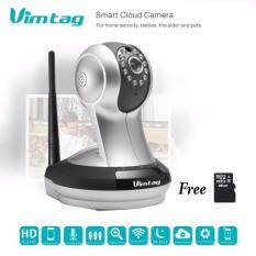 VIMTAG กล้องวงจรปิด รุ่น 'VT-361' 720P Cloud Camera (สีขาว) แถมฟรี SD CARD 16 GB
