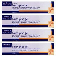 ราคา Virbac Nutri Plus Gel อาหารเสริม สำหรับสุนัข และแมว ขนาด 120 5G 4 Units เป็นต้นฉบับ Virbac