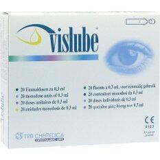 ส่วนลด สินค้า Vislube น้ำตาเทียม ไม่มีสารกันบูด0 3Ml 1กล่อง