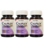 ส่วนลด Vistra Calplex Calcium 700Mg Plus Boron 30เม็ด 3ขวด
