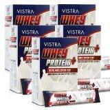 ซื้อ Vistra Whey Protein Plus วิสทร้า ผลิตภัณฑ์เสริมอาหาร นมเวย์โปรตีน รสวานิลลา 15 ซอง 5 กล่อง ออนไลน์ ถูก