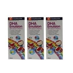 ราคา Vitahealth Dha Emulsion 120 มล 3ขวด Vitahealth ออนไลน์