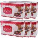 ราคา Vivi Gluta Pink Plus วีวี่ คอลวีว่า อาหารเสริมควบคุมน้ำหนัก เร่งการเผาผลาญ ผิวขาวกระจ่างใส ขนาด 10 ซอง 6 กล่อง ที่สุด
