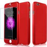 ราคา ราคาถูกที่สุด Vorson 360 Degree Protection เคสประกบ ของแท้ สีแดง สำหรับ Iphone6 Plus 6S Plus Red