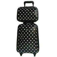 ขาย Vp Polo กระเป๋าเดินทางแฟชั่น กระเป๋าเดินทางราคาถูก กระเป๋าล้อลากเซตคู่ ขนาด 18 นิ้ว 2ใบ ชุด Romar Polo เป็นต้นฉบับ
