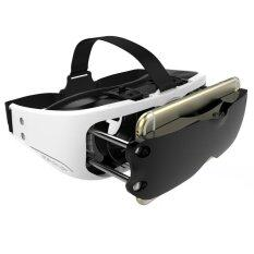 """VR Eyes Virtual Reality For 3.5 - 5.5"""" แบบแม่เหล็กยึด (White)"""