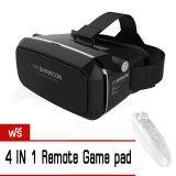 ขาย Vr Shinecon By Virtual Reality Mobile Phone 3D Glasses ฟรี Universal Remote Controller White
