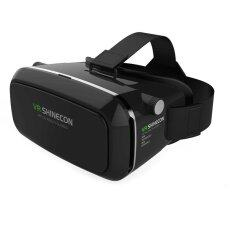 Vr Shinecon Virtual Reality Mobile Phone 3d Glasses 3d Movies Games With Resin Lens For 3.5-6.0 Inch Phone (black) By Alitech.