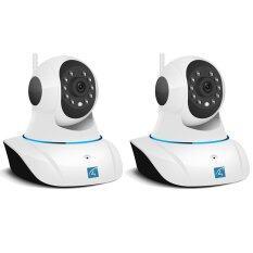 Vstarcam กล้องวงจร ปิด IP Camera รุ่น C7825wip 1.0 Mp and IR Cut WIP HD ONVIF แพ็คคู่  –White