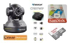 VSTARCAM กล้องวงจรปิด C7837WIP 1.0 MP HD IR CUT ONVIF WIFI + Micro SD Card 32GB Ultra Speed By Synnex