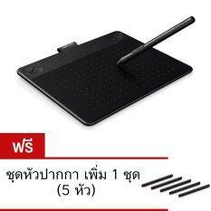 โปรโมชั่น Wacom Intuos Art Cth 490 K0 Cx Pen Touch Tablet Small Black แถมฟรี หัวปากกาสำรองเพิ่ม 1 ชุด 5หัว Wacom