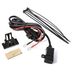 ซื้อ Waterproof Motorcycle Phone Gps 2 1A Usb Port Power Supply Socket Charger Unbranded Generic