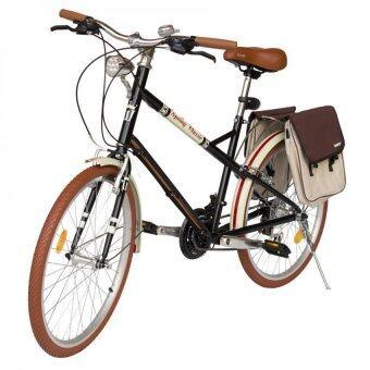 WCI จักรยานไฮบริดจ์ ขนาด 24 นิ้ว รุ่น TOURING SPRING CLASSIC (สีดำ)