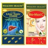 ราคา Wealthy Health Bio Maxi C 1000Mg Vitamin C Milk Thistle Liver Tonic 33000 Wealthy Health ไทย