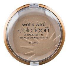 Wet N Wild Color Icon Bronzer Spf15 E743A Reserve Your Cabana เป็นต้นฉบับ