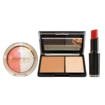Wet N Wild Lipstick #970 + Highlighter + EyeBlush Set