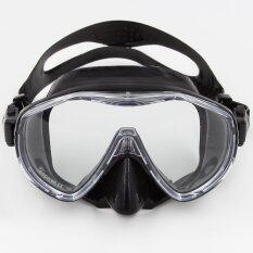 ทบทวน ที่สุด Whale Diving Mask One Piece Tempered Glasss Diving Glasses