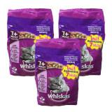ขาย Whiskas 7 Years Old Cat Food Mackerel Flavour 1 1Kg 3 Bags วิสกัส อาหารแมว รสปลาทู สำหรับ แมว อายุ 7 ปีขึ้นไป 1 1Kg 3 ถุง กรุงเทพมหานคร ถูก