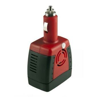 White Label Power Inverter ตัวแปลงไฟรถเป็นไฟบ้าน 150W มีช่อง USB (สีแดง/ดำ)