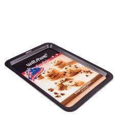ราคา ราคาถูกที่สุด Wiltshire ถาดอบคุ้กกี้ Easy Bake Cookie Sheet ขนาดเล็ก Black