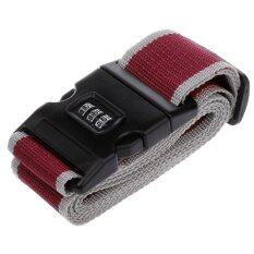 ขาย Wins สายล็อกกระเป๋าเดินทางแบบตั้งรหัส สีแดงเลือดหมู เทา กรุงเทพมหานคร