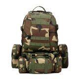 ซื้อ Wins กระเป๋าเป้จัมโบ้แม่ลูกพร้อมลุย Jumbo Tactical Canvas Bag Pack รุ่น Al Tcb Cg สีเขียวลายพราง Wins