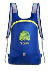 ขาย Wins กระเป๋าเป้กันน้ำพับได้พิเศษ Tectop สีน้ำเงิน Wins ถูก