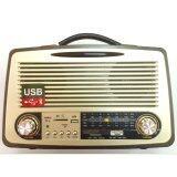 วิทยุ แนว Vintage พร้อม Usb Sd Tf และ Bluetooth สีดำ ไทย