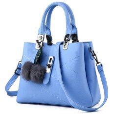 โปรโมชั่น Wiweeland กระเป๋าสะพาย กระเป๋าถือ กระเป๋าสะพายพาดลำตัว สีฟ้า ถูก