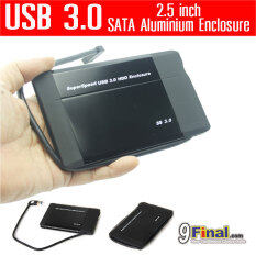 "WLX 288U3v2 by 9final USB 3.0 Superspeed Aluminium HDD Enclosure for 2.5 inch SATA กล่องใส่ harddisk 2.5""- BLACK"