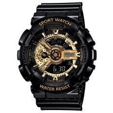 ทบทวน ที่สุด Wonderful Watch S Sport นาฬิกาข้อมือ ใส่ได้ทั้งชายและหญิง กันน้ำได้ Po Sw 110 1 Black Gold