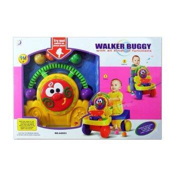 Worktoys baby walker Buggy รถหัดเดิน 3 in 1