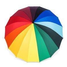 ราคา Wowidea Rainbow Umbrella ร่มสายรุ้ง สีรุ้ง 16 สี Wowidea ใหม่