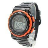ส่วนลด X Sport Watch นาฬิกาข้อมือผู้หญิงและเด็ก สายยาง ระบบ Digital Xs B02